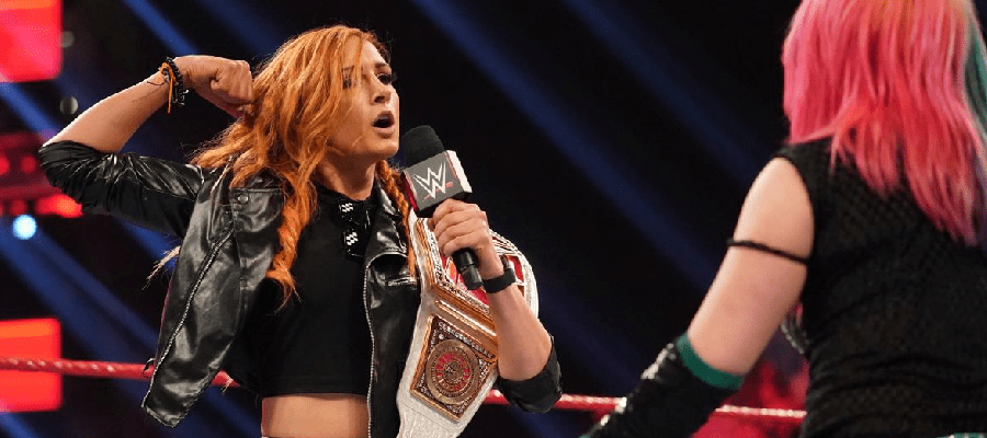 Becky Lynch and Asuka