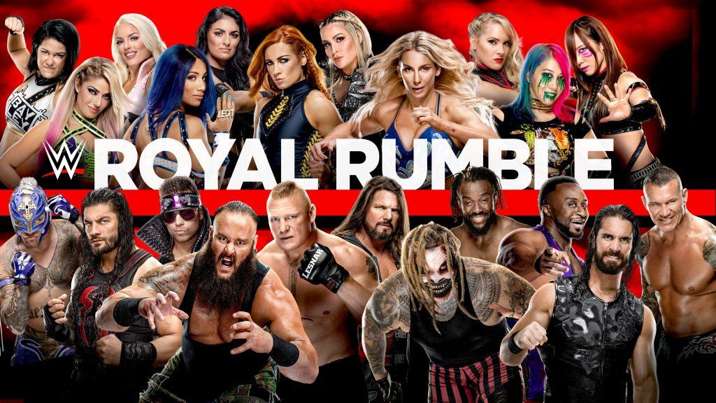 Royal Rumble Poster 2020