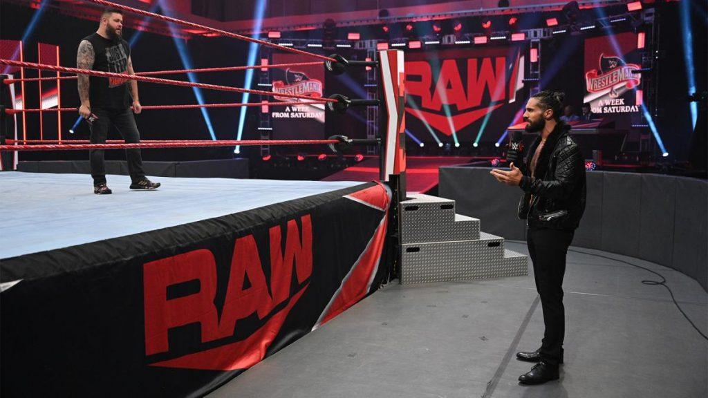 Kevin Owens and Seth Rollins