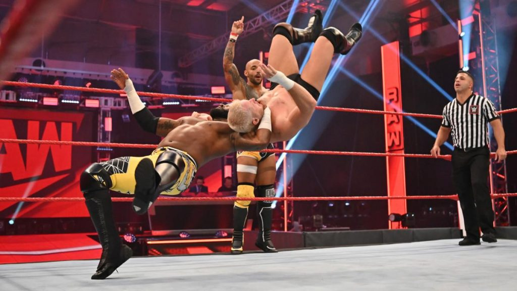 Cedric Alexander takes down Shane Thorne
