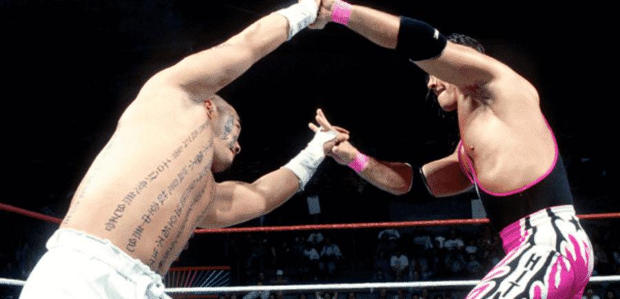 In Your House 1 Hakushi vs Bret Hart