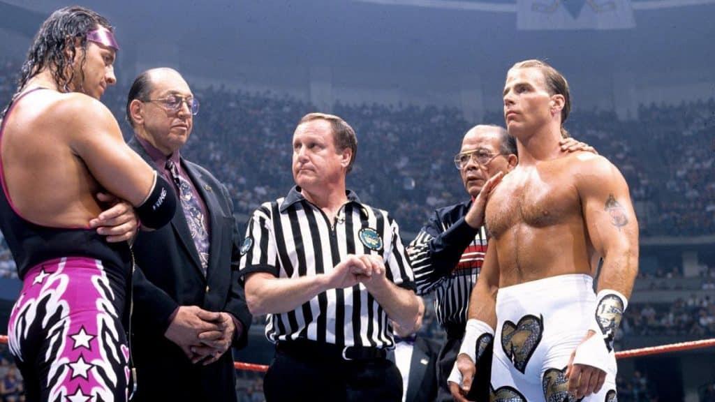Shawn Michaels Bret Hart