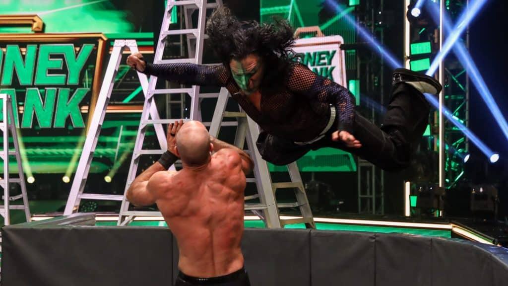 Money in the Bank 2020: Cesaro vs. Jeff Hardy
