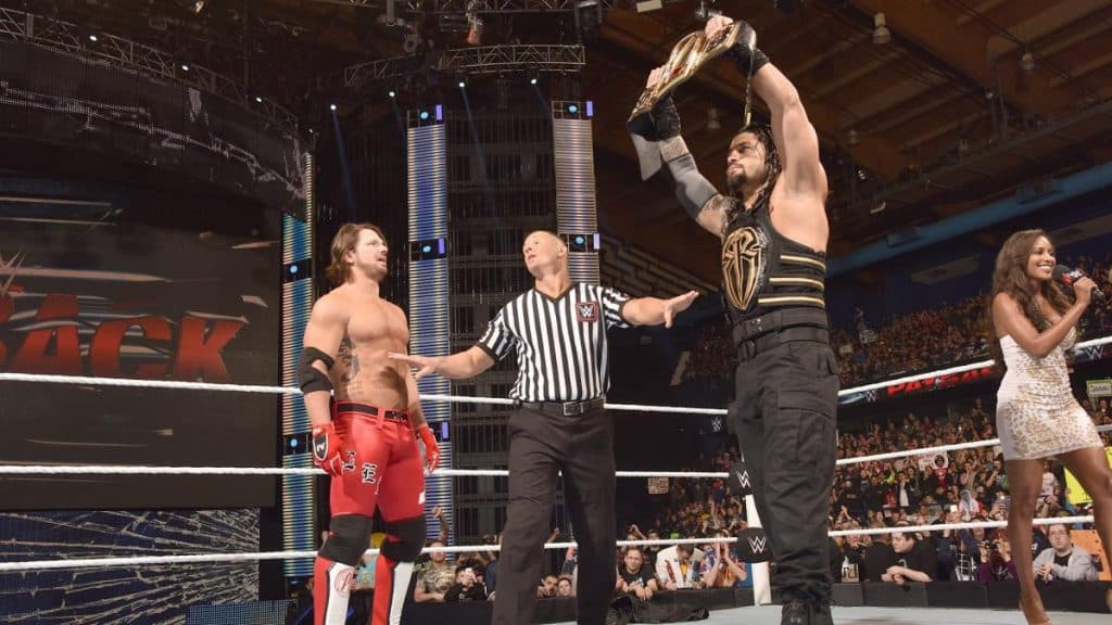 Roman reigns and AJ Styles
