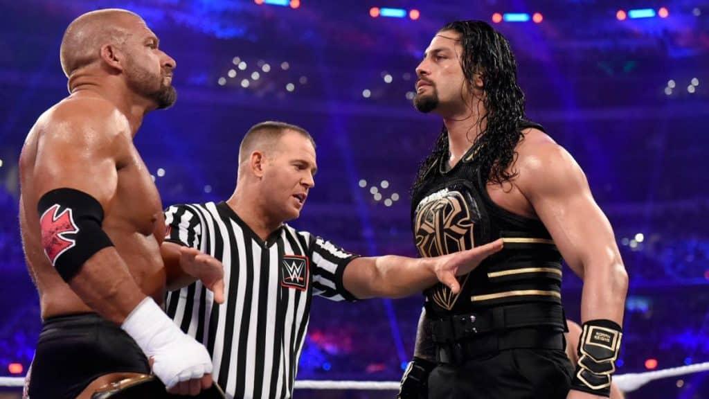 Triple H Roman Reigns