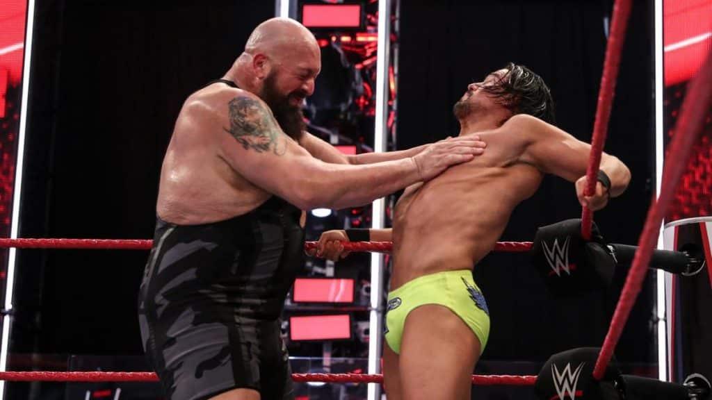 Big Show chops Angel Garza