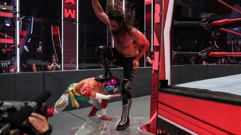 Seth Rollins Stomps Humberto Carrillo