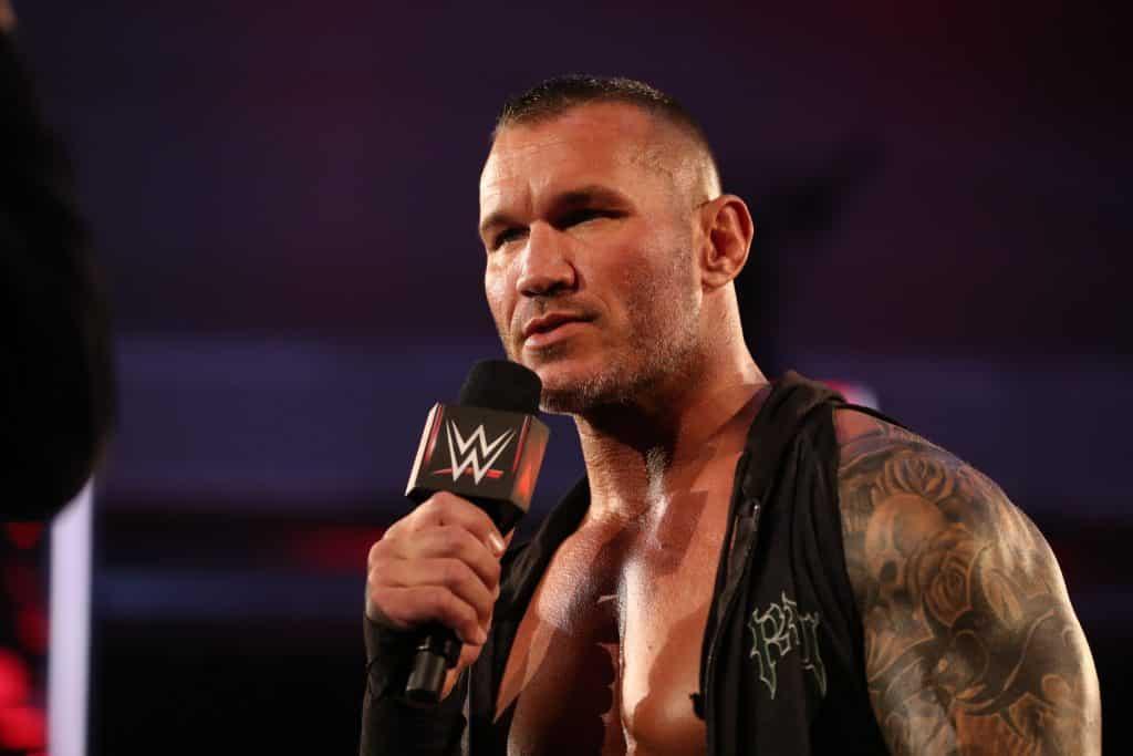 Randy Orton Press shot