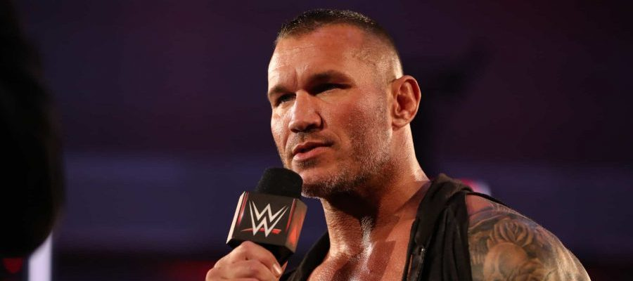Randy Orton Press shot