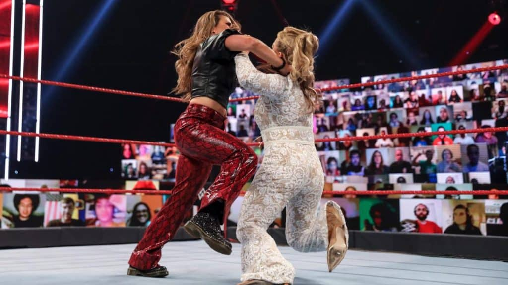 Mickie James and Natalya