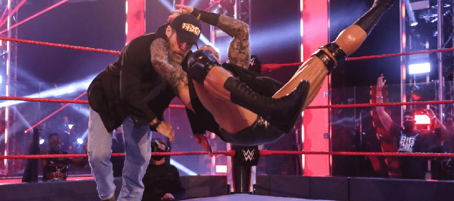 Randy Orton RKO's Shawn Michaels