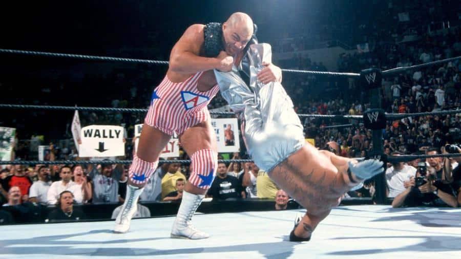 SummerSlam 2002 - Kurt Angle vs Rey Mysterio