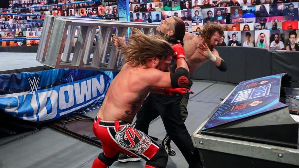 AJ Styles Sami Zayn Jeff Hardy