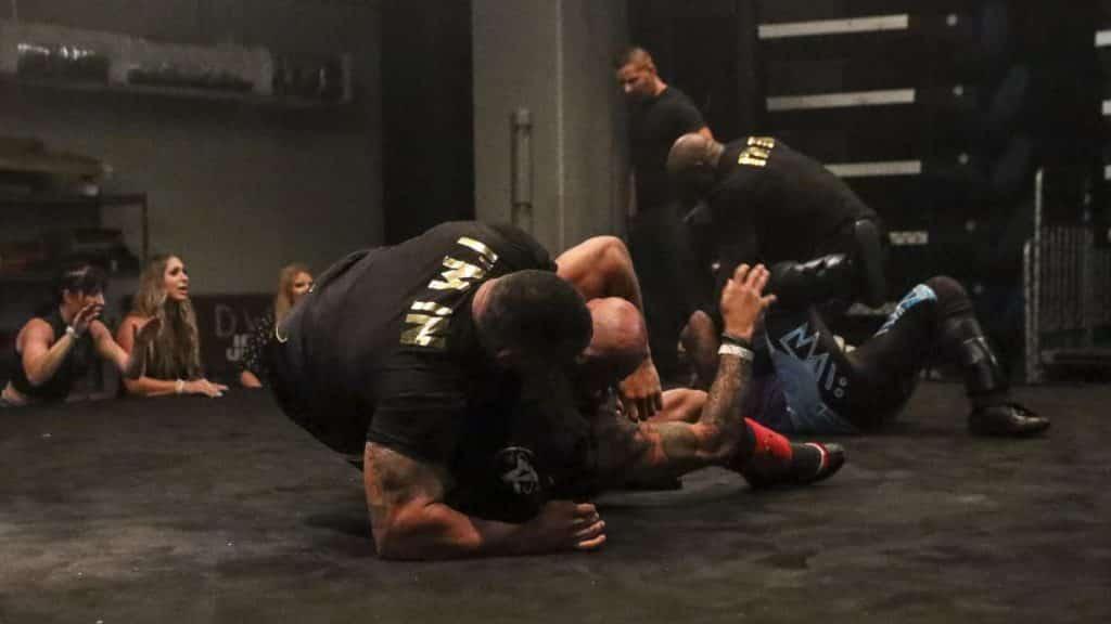 The Hurt Business detroys Cedric Alexander and Ricochet on RAW Underground