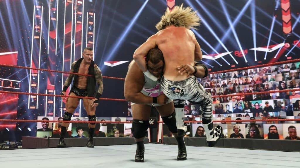 Dolph Ziggler DDT's Keith Lee