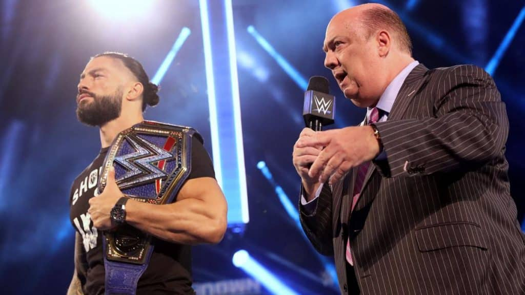 Roam Reigns and Paul Heyman on WWE SmackDown September 4th 2020
