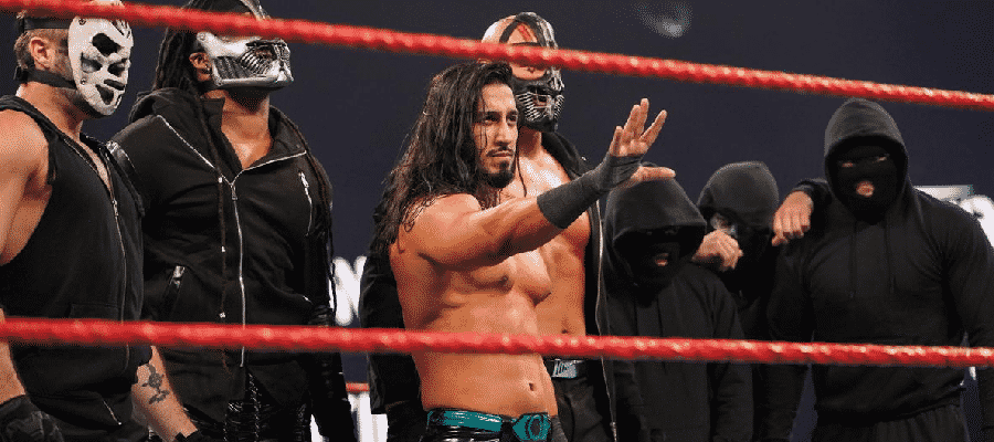 Mustafa Ali is revealed as the leader of RETRIBUTION