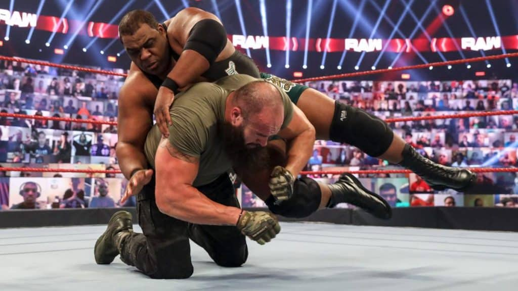 Keith Lee and Braun Strowman