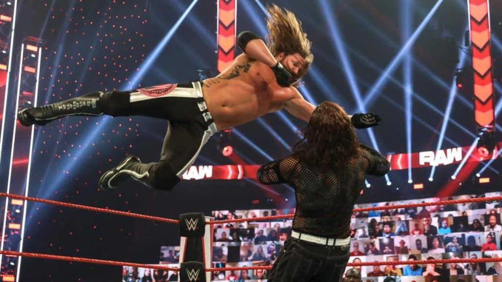 AJ Styles Phenomenal Forearm on Jeff Hardy