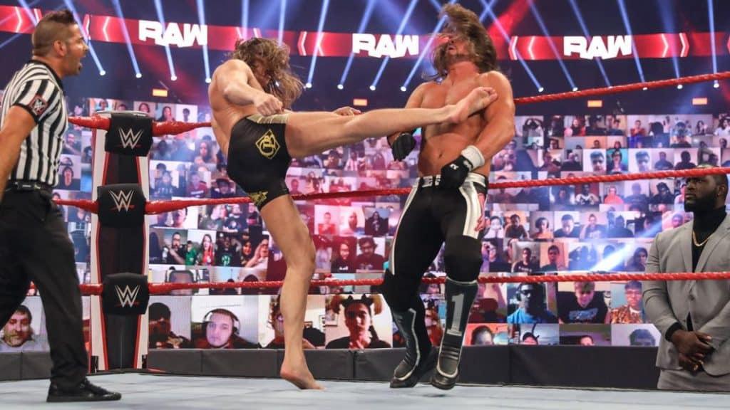 Matt Riddle kicks AJ Styles