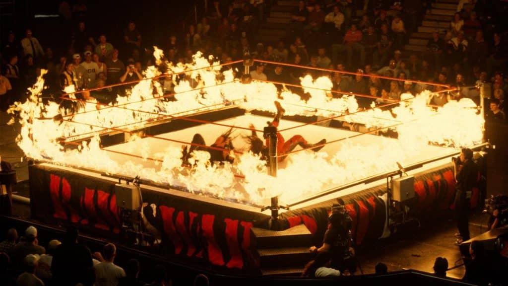 Undertaker Kane inferno