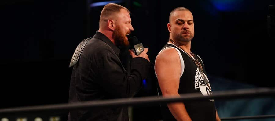 Jon Moxley and Eddie Kingston face to face before their PPV match