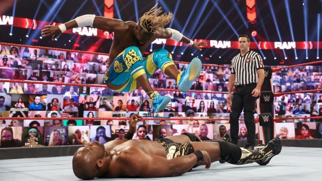 Kofi Kingston Boom Drops Shelton Benjamin