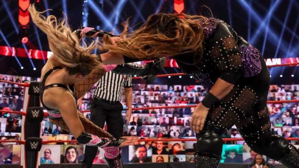 Nia Jax destroys Lana