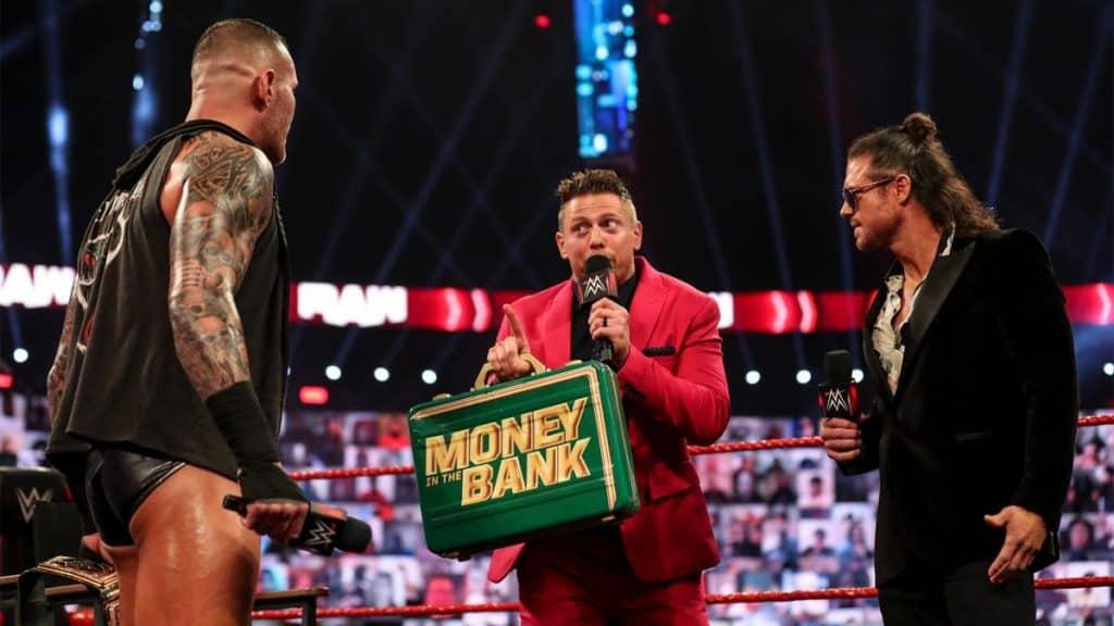 Randy Orton, The Miz, and John Morrison