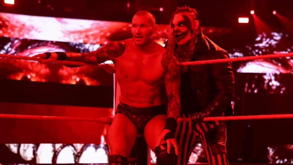 The Fiend stalks Randy Orton