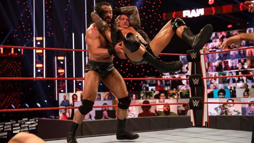y Orton RKO's Drew McIntyre