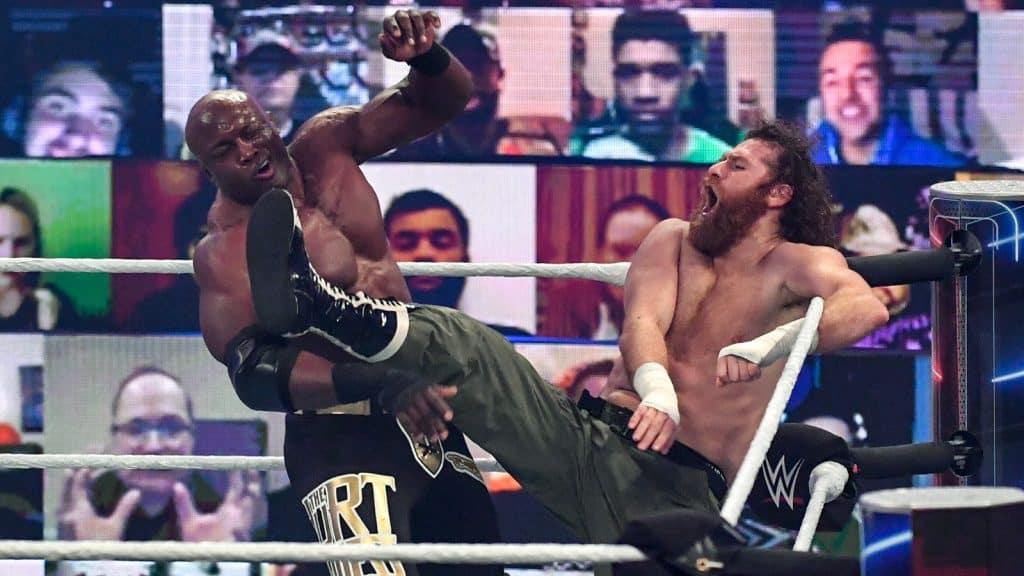WWE Survivor Series 2020: Bobby Lashley vs. Sami Zayn