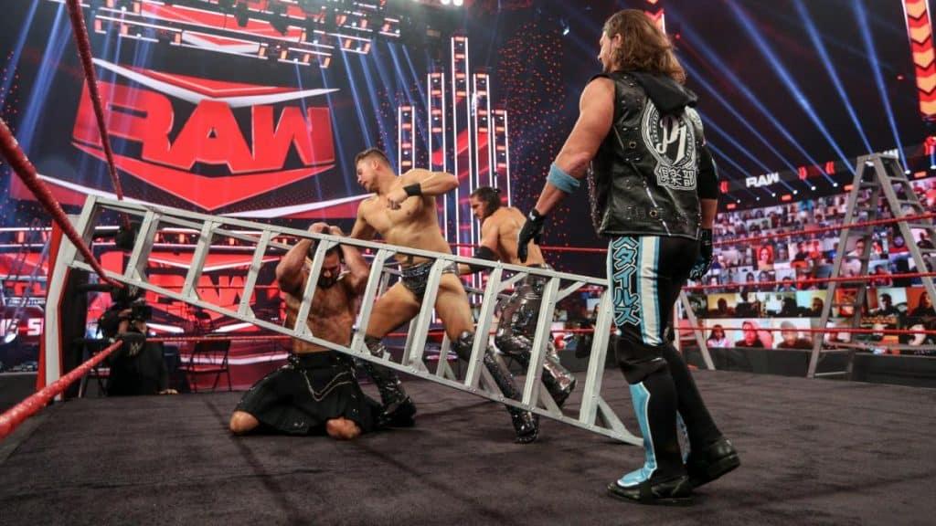 Miz and Morrison attack Drew McIntyre with AJ Styles