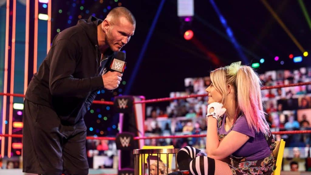 Randy Orton and Alexa Bliss on A Moment of Bliss