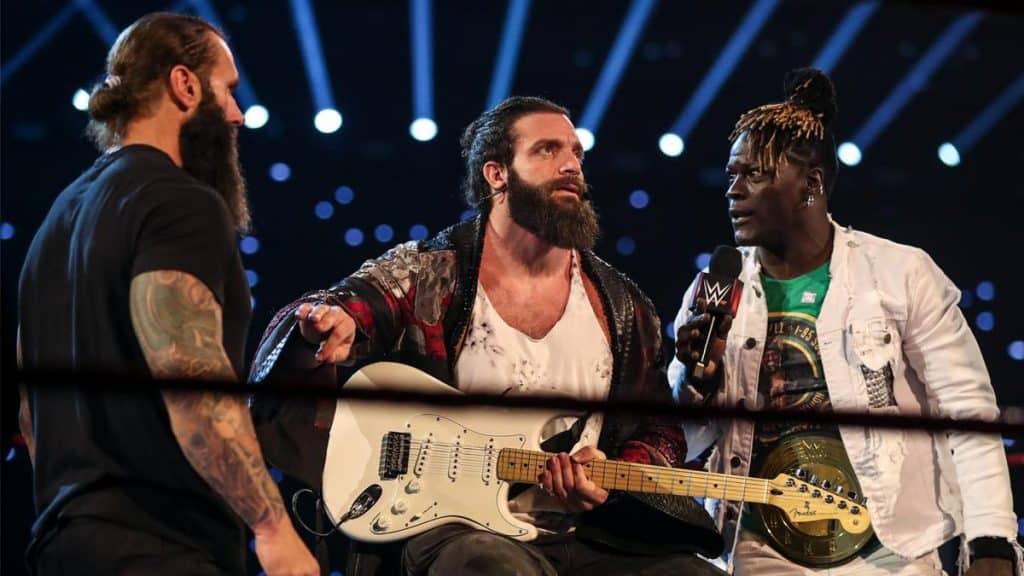 Elias, R-Truth, and Jaxson Ryker