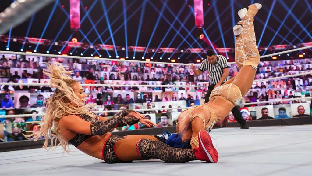 WWE TLC: Carmella vs. Sasha Banks