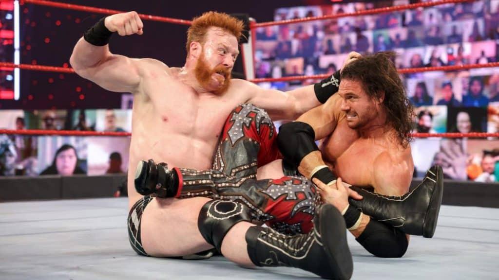 Sheamus punches John Morrison