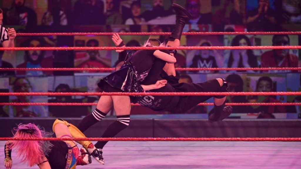 Randy Orton RKO's Alexa Bliss