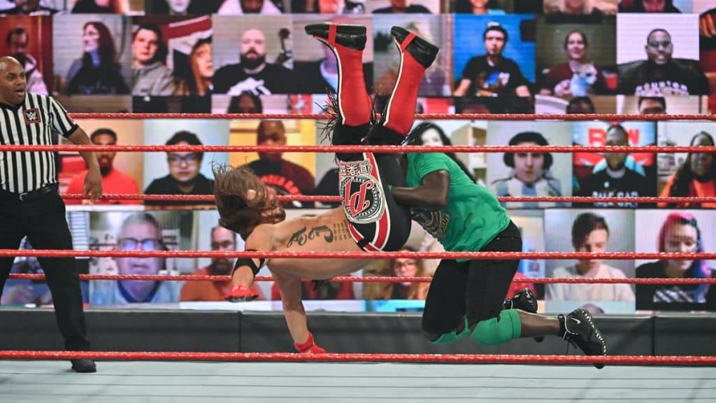 R-Truth takes down AJ Styles