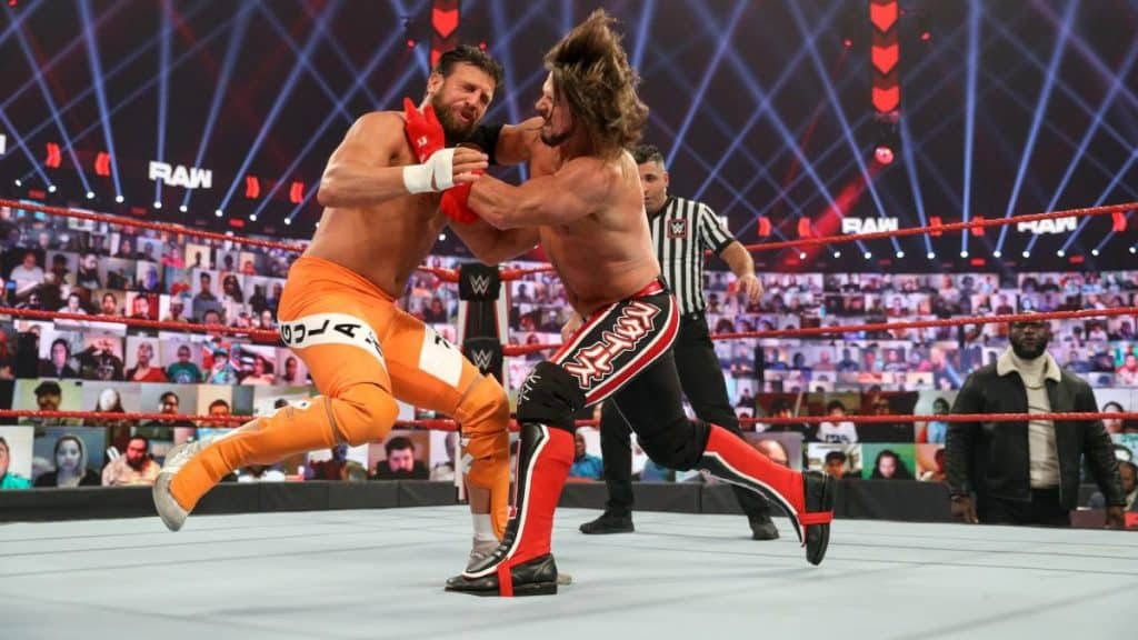 AJ Styles and Drew Gulak
