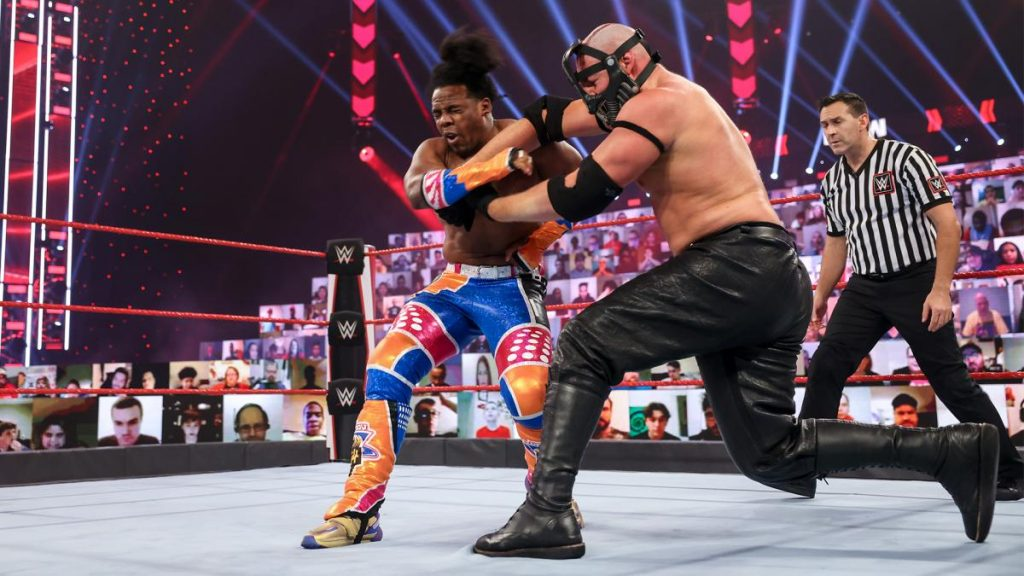 Xavier Woods and T-BAR