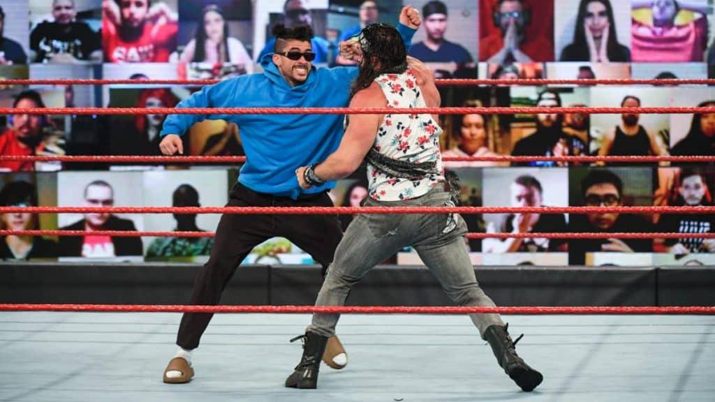Bad Bunny punches Elias