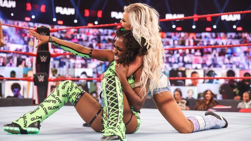 Dana Brooke controls Naomi