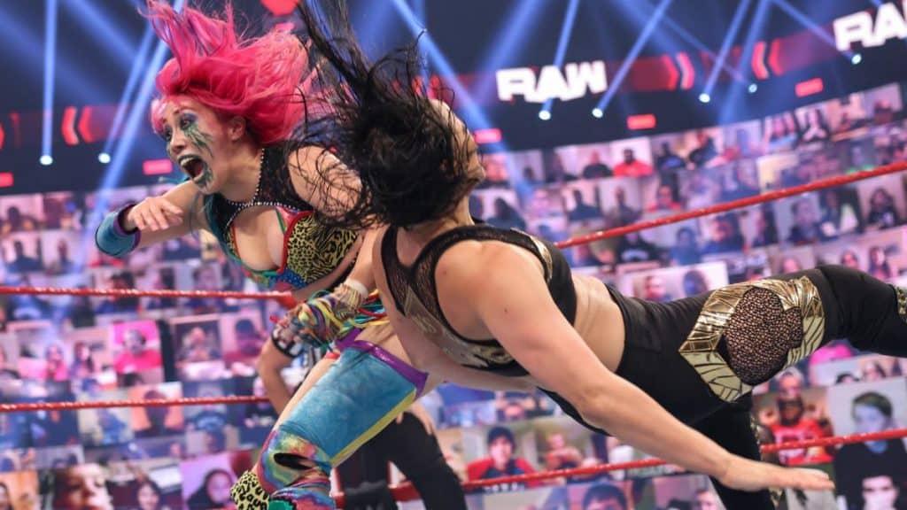 Asuka takes down Shayna Baszler