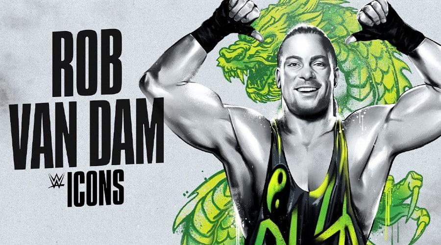 WWE Icons Rob Van Dam