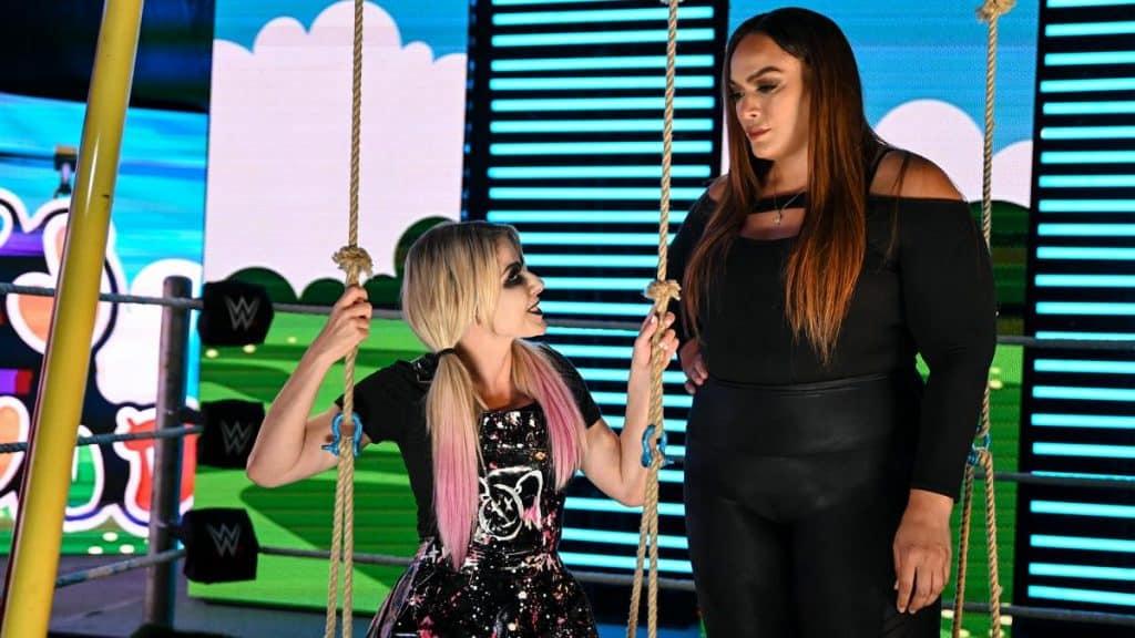 Nia Jax and Alexa Bliss