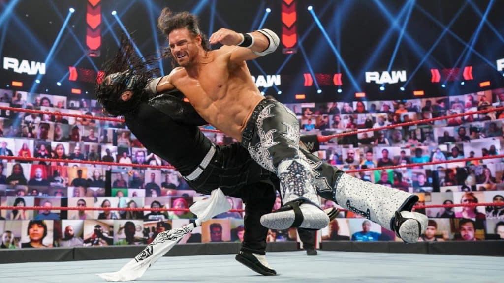Morrison takes down Jeff Hardy