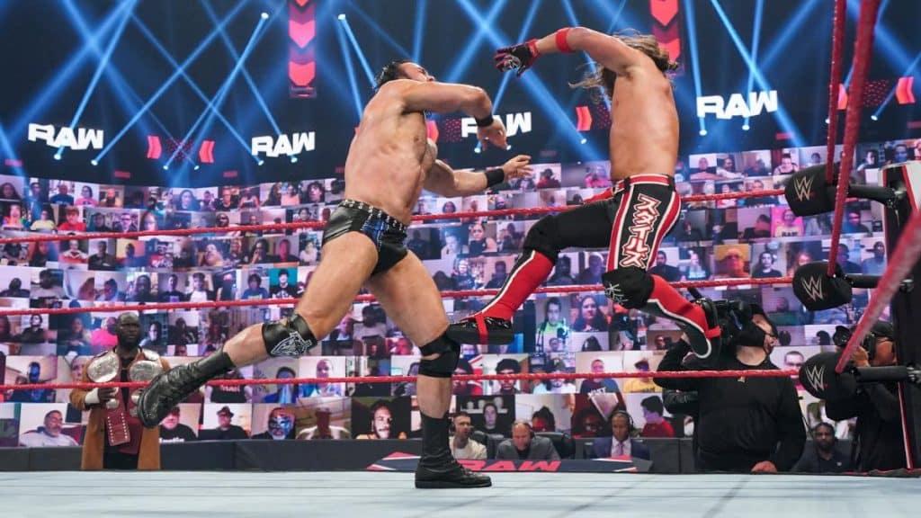 Drew McIntyre and AJ Styles