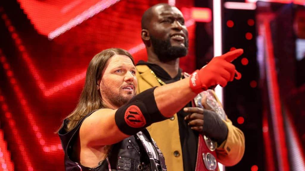 AJ Styles and Omos