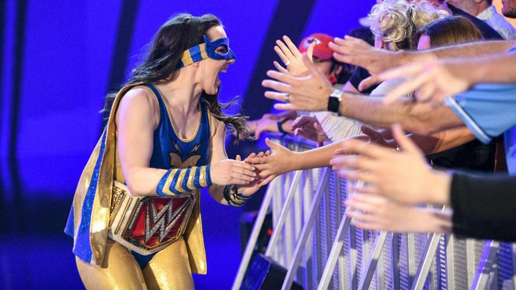 Nikki A.S.H. greets fans